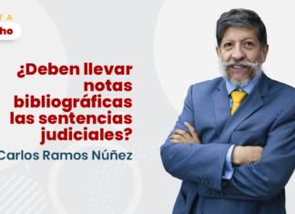 ¿Deben llevar notas bibliográficas las sentencias judiciales? con logo de LP