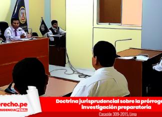 Casación 309-2015, Lima con logo de jurisprudencia penal y LP
