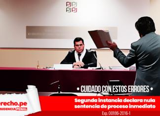 Expediente 00186-2016-1 con logo de jurisprudencia penal y LP