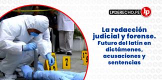 La redacción judicial y forense con logo de LP