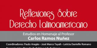 Estudios en homenaje al profesor Carlos Ramos Núñez