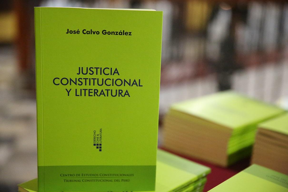 José Calvo: «La Constitución es una 'máquina de ficción'» | LP
