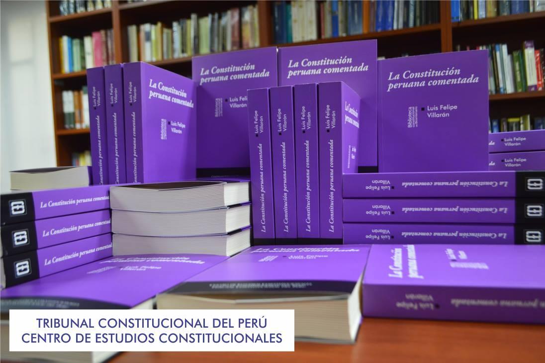 """""""La Constitución peruana comentada"""". El texto se presentará en la Feria Internacional del Libro 2016 este 26 de julio a las 4:00 p.m."""