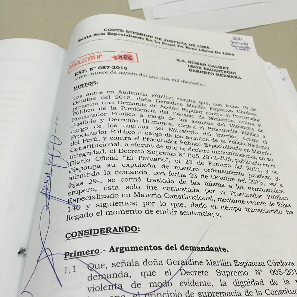 Declaran inconstitucional norma que autorizaba presentar en público al imputado-Legis.pe