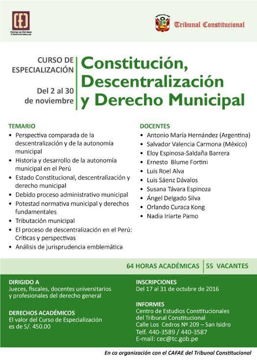 tc-cec-inicia-curso-de-especializacion-constitucion-descentralizacion-y-derecho-municipal