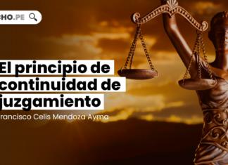 El principio de continuidad de juzgamiento - LP