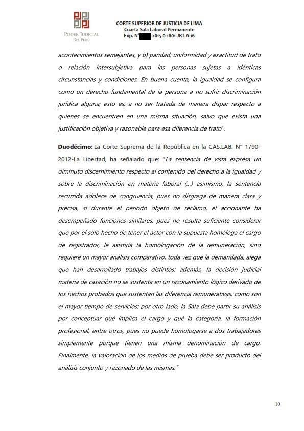 Sereno CAS es reconocido como obrero municipal y se ordena su incorporacion al regimen 728 - Legis.pe 10