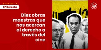 Diez obras maestras que nos acercan al derecho a través del cine con logo de LP