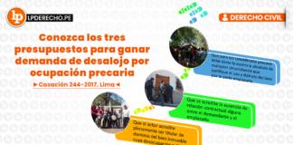 Casación 244-2017, Lima con logo de LP
