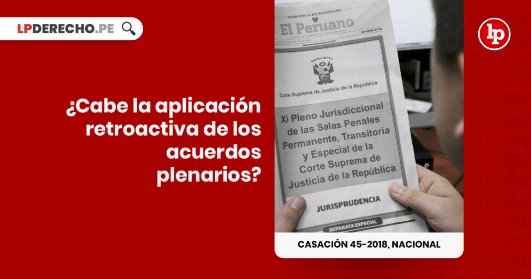 Casacion 45-2018, Nacional con logo de LP