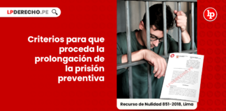 Criterios para que proceda la prolongación de la prision preventiva-penal-LP