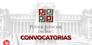 Convocatorias Poder Judicial con logo LP