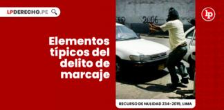 Recurso de Nulidad 234-2019, Lima con logo de LP