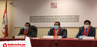 Audiencia con logo de jurisprudencia penal y LP