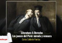 literatura jueces perú