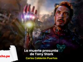 La muerte Tony Stark, por Carlos Calderón Puertas