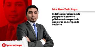 transporte pasajeros covid-19 Erick Alonso Valdez Vargas