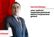 suspensión perfecta panorama Sanin Soto Rodriguez