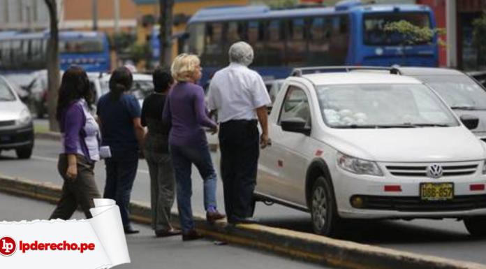 ejecutivo formalización taxis colectivos