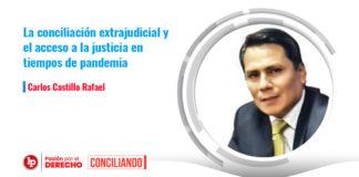 conciliación extrajudicial pandemia