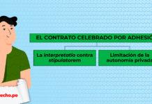 esquema del contrato por adhesión con logo de LP