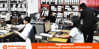 STC 00002-2010-PI Régimen CAS trabajadores