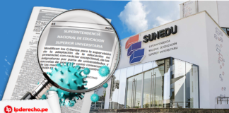 Resolución 115-2020-sunedu-cd con logo lp y fachada Sunedu