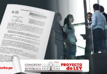 Proyecto de ley para eliminar CAS del sector público