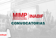 Mimp Inabif convocatorias