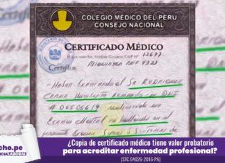 certificado médico con logo lp