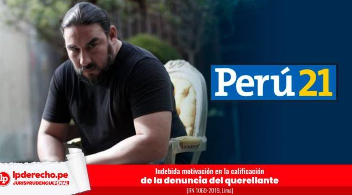 Jurisprudencia penal Indebida motivación en la calificación de la denuncia del querellante con logo LP
