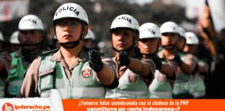 policía femenina-PNP-chaleco-fotografía-desnudo-constitucional-LP