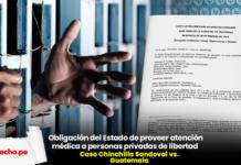 Caso Chinchilla Sandoval vs. Guatemala con logo de LP