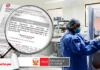 Decreto supremo 031-2020-SA médico en un hospital con logo LP