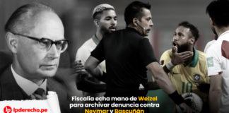 Fiscalía de la Nación archiva denuncia contra Neymar y Bascuñán