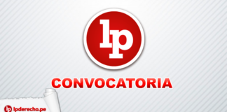 LP convocatoria con logo de LP