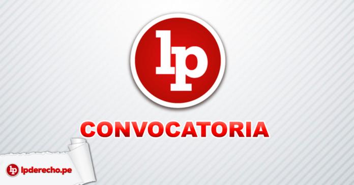 LP convocatoria con logo de LP