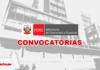 Ministerio de Economía y Finanzas convocatorias con logo de LP