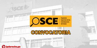OSCE convocatoria con logo de LP