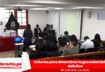 Recurso de nulidad 2230-2018, Lima norte con logo de jurisprudencia penal y LP