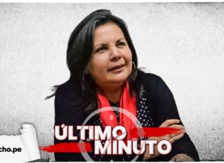 Roció Silva Santisteban con logo de LP y lo último