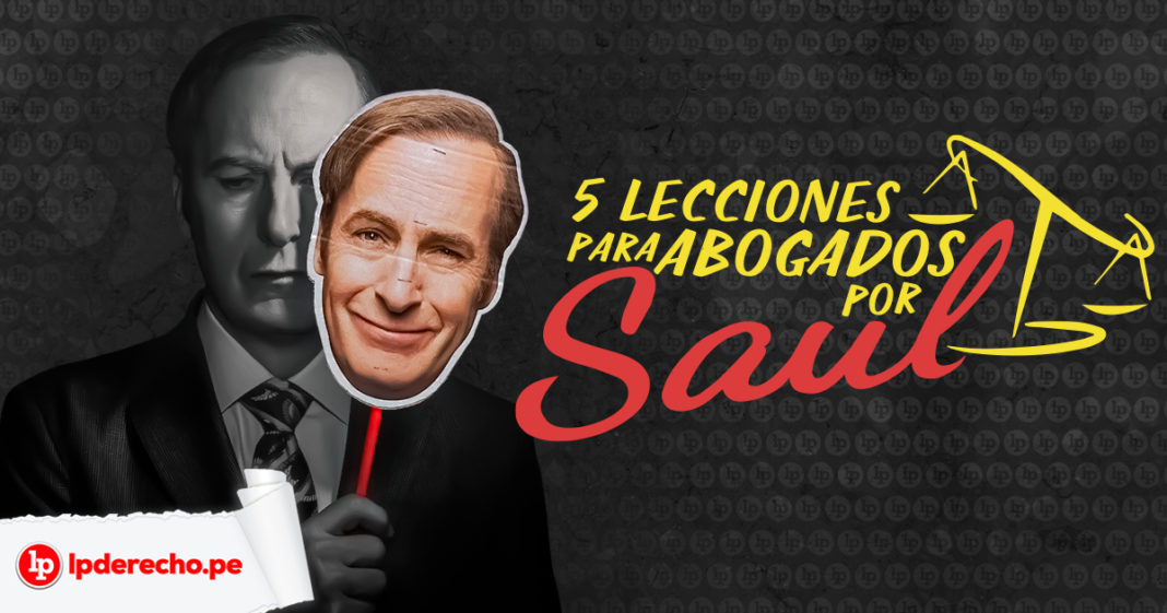 Saul Goodman de Breaking Bad y Better Call Saul