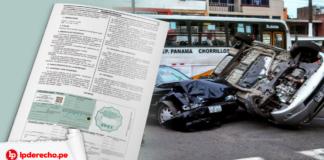 Accidente de transito Certificado Accidente Transito con logo de LP