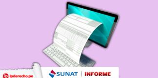 Informe 102-2020-SUNAT/7T0000 con logo de LP