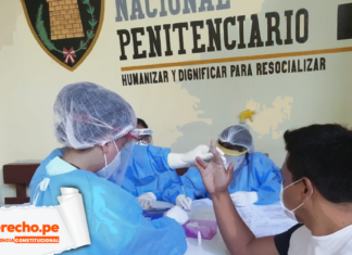 Jurisprudencia constitucional INPE médicos con logo de LP