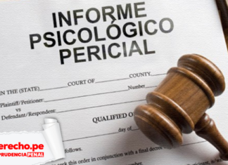 Jurisprudencia penal informe pericial con logo de LP