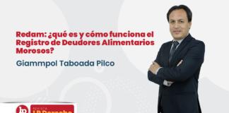 Redam: ¿qué es y cómo funciona el Registro de Deudores Alimentarios Morosos? con logo de LP