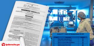 Decreto de Urgencia 001-2021 con logo de LP