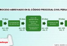 Proceso abreviado: reglas, plazos, competencia
