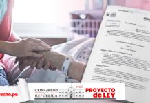 Eutanasia proyecto ley con logo de LP